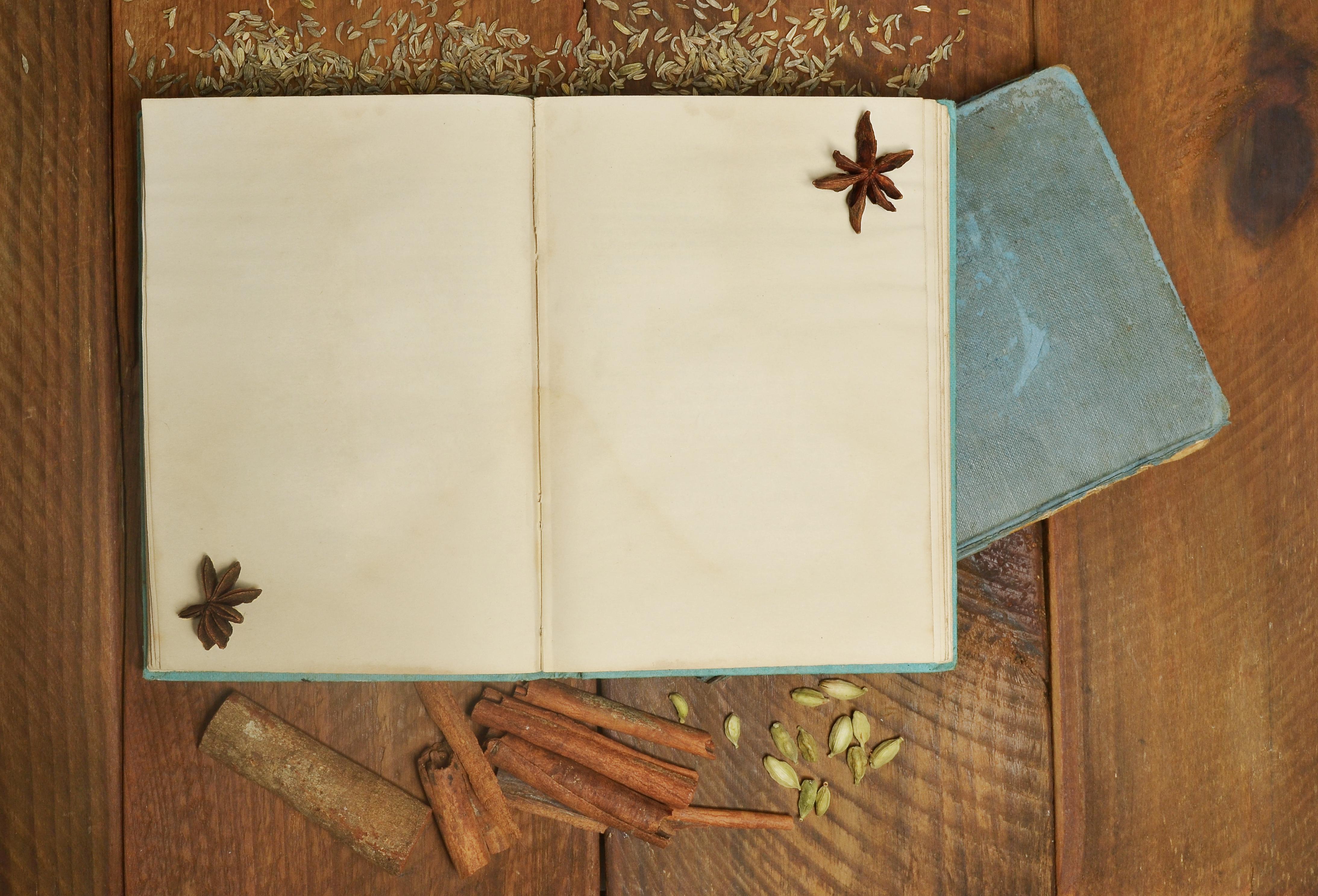 Open, Blank Journal