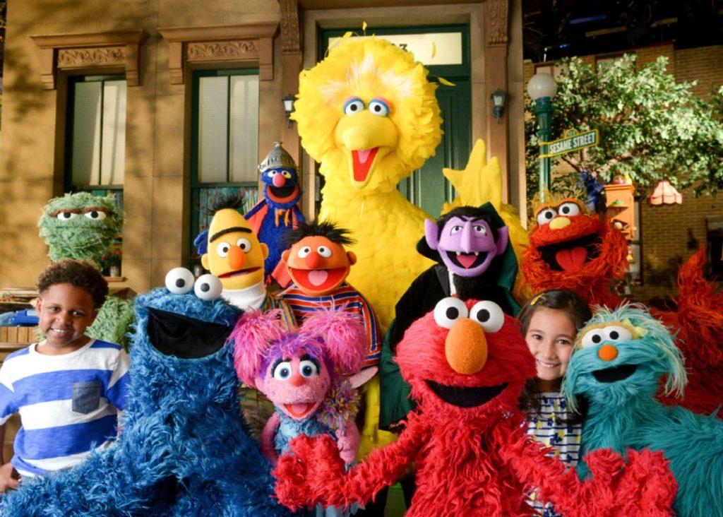 Sesame Street opening scene, season 49